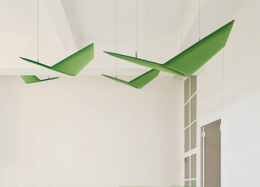 Suspended Acoustic Panels